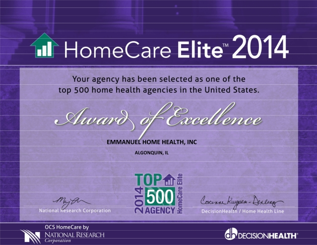 Home Care Elite of 2014