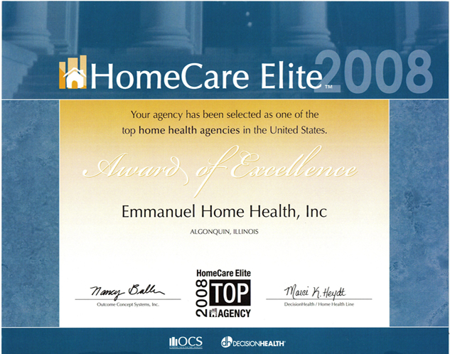 Home Care Elite of 2008