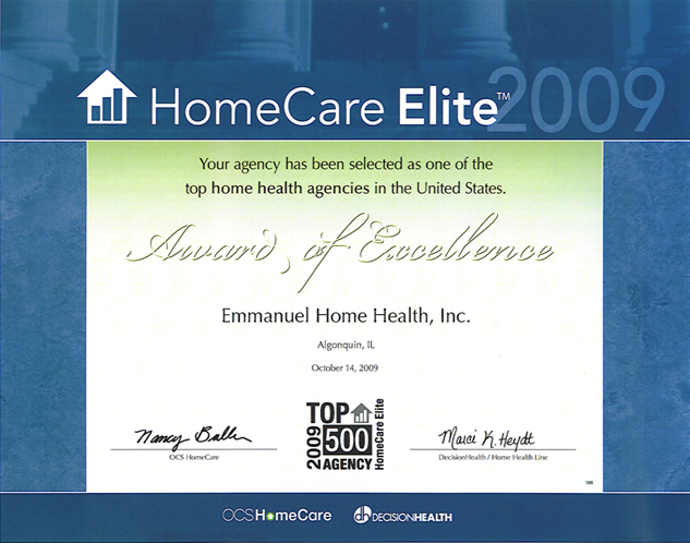 Home Care Elite of 2009