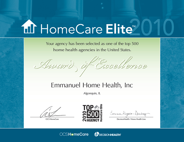 Home Care Elite of 2010