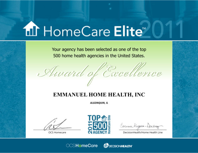 Home Care Elite of 2011